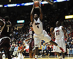 Ole Miss' Demarco Cox (4) at the C.M. &quot;Tad&quot; Smith Coliseum in Oxford, Miss. on Wednesday, January 18, 2012. (AP Photo/Oxford Eagle, Bruce Newman).