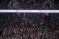 Stanford, Ca - September 2, 2016: The Stanford Cardinal vs the Kansas St Wildcats at Stanford Stadium. Final score Stanford 26, Kansas St 13.