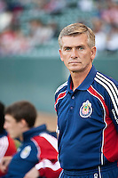 Chivas USA goalie coach Daniel Gonzalez
