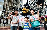 Tottenham Hotspurs' mascot Chirpy visits Hong Kong 31Oct2013