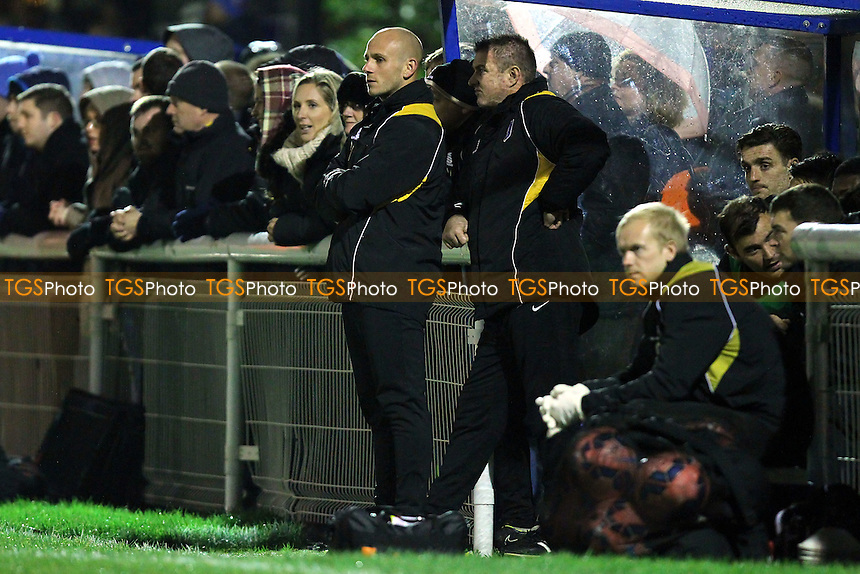 Adam Murray, caretaker manager of Mansfield Town (C) - Concord Rangers vs Mansfield Town - FA Challenge Cup 1st Round Replay Football at the Aspect Arena, Thames Road, Canvey Island, Essex - 25/11/14 - MANDATORY CREDIT: Gavin Ellis/TGSPHOTO - Self billing applies where appropriate - contact@tgsphoto.co.uk - NO UNPAID USE