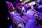 Party officials scold RonPaul supporters at the 2012 Republican National Convention in Tampa, Florida, August 30, 2012.