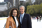 Tamara Tunie & Terry Lundgren at the Figure Skating in Harlem  - the 2011 Skating with the Stars on April 4, 2011 at Wollman Rink, Central Park, New York City, New York. (Photo by Sue Coflin/Max Photos)