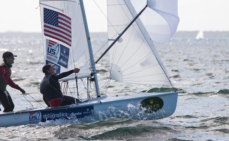 USA 1713, Fleet: 470-Men, Crew: Stuart McNay, Graham Biehl,  , Country: USA