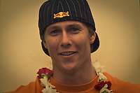 HALEIWA, HI (Thursday Dec. 3, 2009) Ian Walsh (HAW)  The opening ceremony of the Quiksilver in Memory of Eddie Aikau was held today at Waimea Bay. This year's event is the 25th Anniversary  and will be held on one day , between December 1, 2009 and February 28, 2010, when the waves eceed the  20 foot  minimum threshold and the 28 invitees will compete for the $98.000 prize purse...The northern hemisphere winter months on the North Shore signal a concentration of surfing activity with some of the best surfers in the world taking advantage of swells originating in the stormy Northern Pacific. Notable North Shore spots include Waimea Bay, Off The Wall, Backdoor, Log Cabins, Rockpiles and Sunset Beach... Ehukai Beach is more  commonly known as Pipeline and is the most notable surfing spot on the North Shore. It is considered a prime spot for competitions due to its close proximity to the beach, giving spectators, judges, and photographers a great view...The North Shore is considered to be one the surfing world's must see locations and every December hosts three competitions, which make up the Triple Crown of Surfing. The three men's competitions are the Reef Hawaiian Pro at Haleiwa, the O'Neill World Cup of Surfing at Sunset Beach, and the Billabong Pipeline Masters. The three women's competitions are the Reef Hawaiian Pro at Haleiwa, the Gidget Pro at Sunset Beach, and the Billabong Pro on the neighboring island of Maui...Photo: Joliphotos.com