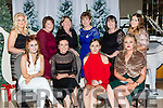 The O'Connor family from Abbeydourney celebrating Christmas in the Killarney Oaks hotel on Friday night front row l-r: Stacey O'Connor, Lisa Kelly, Amy Kelly, Kelly Murnane, back row: Laura and Kathy murnane, Ann Kelly, Eileen O'Connor, Brenda Dowling and Rebecca Dowling