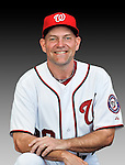 25 February 2011: Randy Tomlin, Spring Training Instructor for the Washington Nationals, poses for his portrait on Photo Day at Space Coast Stadium in Viera, Florida. Mandatory Credit: Ed Wolfstein Photo