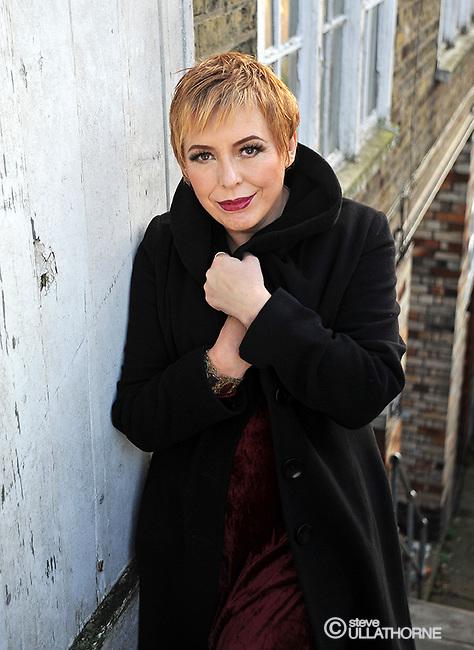 Barb Jungr, Singer. Album cover shoot