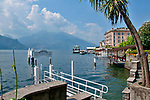 The ferry docks at Bellagio on Lake Como, Italy