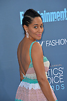 Tracee Ellis Ross at the 22nd Annual Critics' Choice Awards at Barker Hangar, Santa Monica Airport. <br /> December 11, 2016<br /> Picture: Paul Smith/Featureflash/SilverHub 0208 004 5359/ 07711 972644 Editors@silverhubmedia.com
