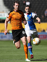 Wolverhampton Wanderers' Andreas Weimann and Blackburn Rovers' Craig Conway<br /> <br /> Photographer Rachel Holborn/CameraSport<br /> <br /> The EFL Sky Bet Championship - Wolverhampton Wanderers v Blackburn Rovers - Saturday 22nd April 2017 - Molineux - Wolverhampton<br /> <br /> World Copyright &copy; 2017 CameraSport. All rights reserved. 43 Linden Ave. Countesthorpe. Leicester. England. LE8 5PG - Tel: +44 (0) 116 277 4147 - admin@camerasport.com - www.camerasport.com