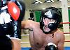 October 16-13 German boxer Karo Murat prepares for his upcoming fight with Bernard Hopkins