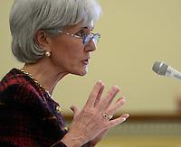 HHS Secretary Sebelius Testifies on FY13 Budget
