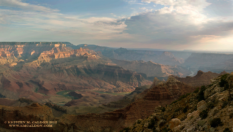 Sunrise on the 4th of July<br /> from Lipan Point, looking Northeast.<br /> Freedom Rises with the Sun