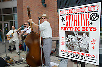 Class of 2015 orientation / communities activities and lunch. The Starline Rhythm Boys.