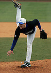 Sean Bouthilette pitches in the second inning of UK's win over Morehead State  at Cliff Hagan Stadium on Tuesday, March 2, 2010. Photo by Britney McIntosh | Staff
