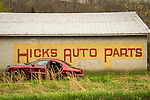 Tigert, KY Hicks Auto Parts editorial landscape.