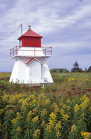 Seal Point Lighthouse, Howards Cove, Prince Edward Island, Canada