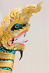 Chinthe; mythical lion-dragon creatures, Burma