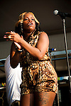 Fantasia performing at the New Orleans Jazz and Heritage Festival in New Orleans, Louisiana, April 30, 2011. Fantasia Monique Barrino (born June 30, 1984) commonly known as Fantasia, is an American R&B singer, Broadway and television actress who rose to fame as the winner of the third season of the reality television series American Idol in 2004.