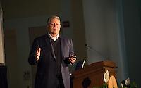 20151006 Al Gore Lecture at UVM Ira Allen Chapel
