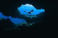 Freediver / snorkeler<br /> Eagle Shoals<br /> St. John<br /> U.S. Virgin Islands