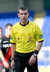 St Johnstone v St Mirren....06.10.12      SPL.Ref Alan Muir.Picture by Graeme Hart..Copyright Perthshire Picture Agency.Tel: 01738 623350  Mobile: 07990 594431