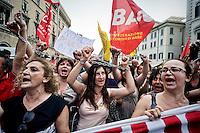 Manifestazione contro il ddl Scuola
