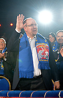 Prince Albert, Princess Stéphanie & daughters, Stéphane Bern at 4th day of 37th Circus Festival