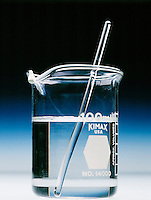 SILVER NITRATE SOLUTION IN WATER<br /> 2 of 2<br /> Distilled water<br /> In distilled or deionized water there is no chlorine for the silver to react with, therefore no precipitate forms.