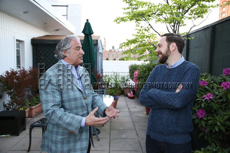 Stewart F. Lane and Moritz von Stuelpnagel attends The Drama League: Meet The Directing Fellows <br />Hosted By Stewart F. Lane &amp; Bonnie Comley at a private residence on May 15, 2017 in New York City.