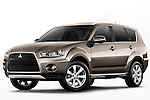 Mitsubishi Outlander SUV 2010 Stock Photo