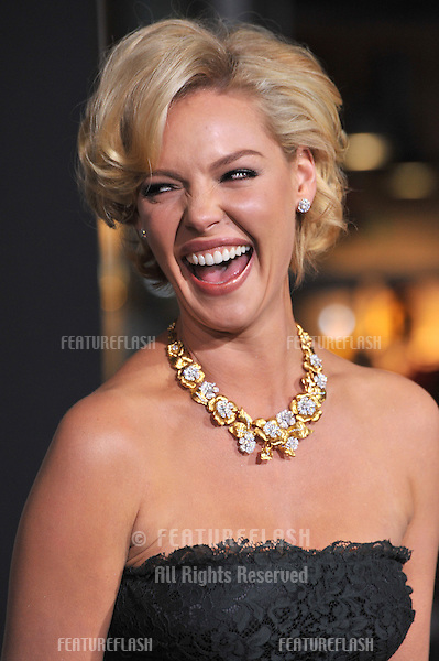 "Katherine Heigl at the world premiere of her new movie ""New Year's Eve"" at Grauman's Chinese Theatre, Hollywood..December 5, 2011  Los Angeles, CA.Picture: Paul Smith / Featureflash"