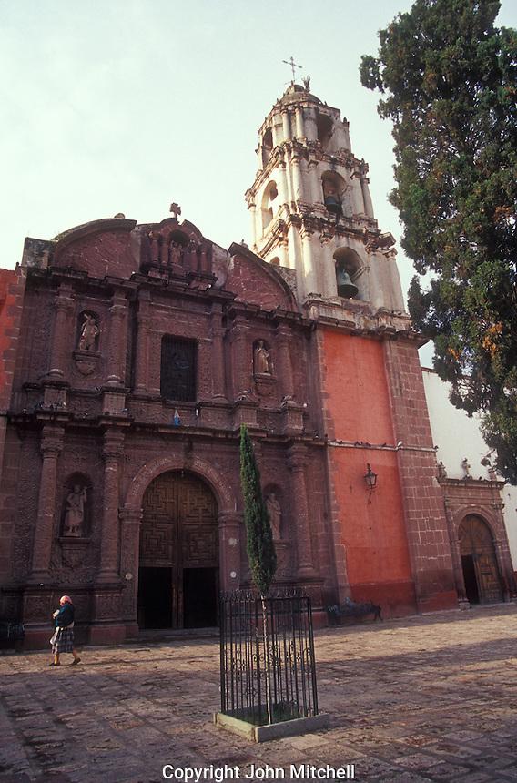 The Oratorio de San Felipe Neri church in San Miguel de Allende, Mexico