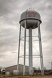 Oklahoma, Picher, United States, Water Tower, Winter