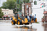 2011-08-28 Hurricane Irene causes flooding in Mamaroneck, NY