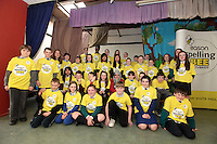 NO FEE PICTURES.8/3/12 Kids from all around Dublin, taking part in the Dublin County final, part of the overall Eason 2012 Spelling Bee, held at St Olaf's NS, Dundrum. .For further details visit www.easons.com/spellingbee and stay tuned to RTE 2fm. Picture:Arthur Carron/Collins