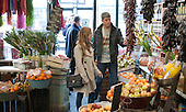 English as a Foreign Language students shopping in the town, Further Education College, Lewis, Sussex.