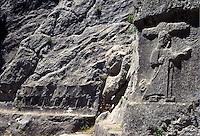 Turchia, Hattusa, capitale dell'antico impero ittita. Situata vicino a Bogazkale il sito è stato aggiunto alla lista del patrimonio mondiale dell'UNESCO nel 1986..Turkey, Hattusa, it was the capital of the ancient Hittite Empire. It was found to be located near modern Bogazkale within the great loop of the Kizil river. Hattusa was added to the UNESCO World Heritage list in 1986..