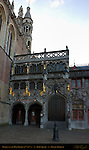 Basilica of the Holy Blood at Sunrise, 12th-15th century, Burg Square, Bruges, Brugge, Belgium