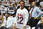 Shepard Smith attends Ole Miss vs. Kentucky at the C.M. &quot;Tad&quot; Smith Coliseum on Tuesday, January 29, 2013.  (AP Photo/Oxford Eagle, Bruce Newman)..
