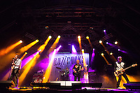 Buzzcocks at the Benicassim Festival 2012