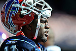 19 October 2008:  Buffalo Bills' wide receiver Roscoe Parrish looks out from the sidelines during a game against the San Diego Chargers at Ralph Wilson Stadium in Orchard Park, NY. The Bills defeated the Chargers 23-14 and maintain their first place position in the AFC East with a 5 and 1 record...Mandatory Photo Credit: Ed Wolfstein Photo