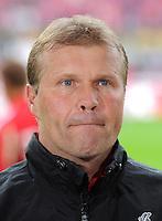 FUSSBALL   1. BUNDESLIGA  SAISON 2011/2012   34. Spieltag 1. FC Koeln - FC Bayern Muenchen        05.05.2012 Trainer Frank Schaefer (1. FC Koeln)