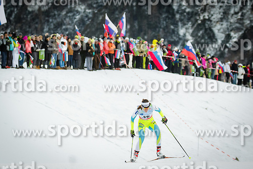 Lea Einfalt (SLO) during Ladies 1.2 km Free Sprint Qualification race at FIS Cross<br /> Country World Cup Planica 2016, on January 16, 2016 at Planica,Slovenia. Photo by Ziga Zupan / Sportida