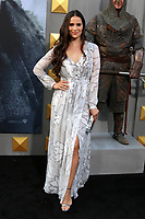 """HOLLYWOOD, CA - MAY 8: Gianna Simone at the premiere Of Warner Bros. Pictures' """"King Arthur: Legend Of The Sword"""" at the TCL Chinese Theatre In California on May 8, 2017. Credit: David Edwards/MediaPunch"""