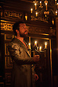 London, UK. 03.02.2016. Shakespeare's Globe presents THE WINTER'S TALE, by William Shakespeare, in the Sam Wanamaker Playhouse. Picture shows: John Light (Leontes). Photograph © Jane Hobson.