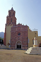 Mison de Landa de Metamoros in the Sierra Gorda, Queretaro state, Mexico. Mision de Landa is the last of five Franciscan missions established by Fray Junipero Serra between 1751 and 1768.