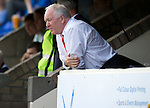St Johnstone v Aberdeen....18.08.12   SPL.Craig Brown watches.Picture by Graeme Hart..Copyright Perthshire Picture Agency.Tel: 01738 623350  Mobile: 07990 594431