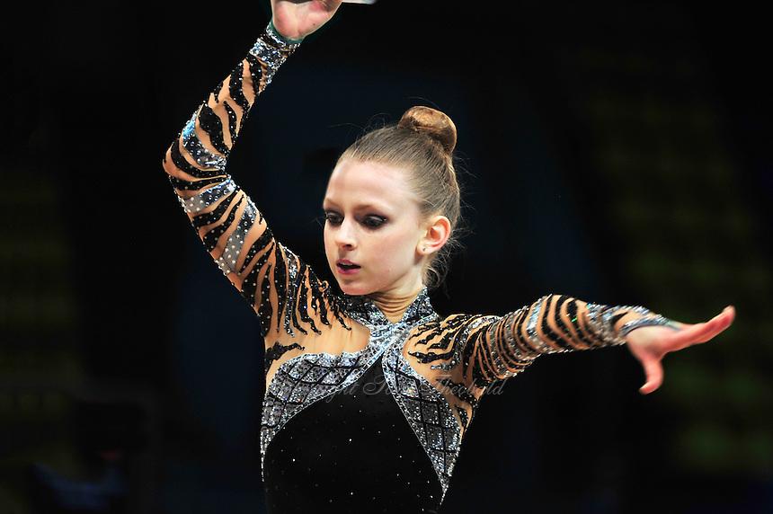 "JASMINE KERBER of USA (junior) performs at 2011 World Cup Kiev, ""Deriugina Cup"" in Kiev, Ukraine on May 06, 2011."